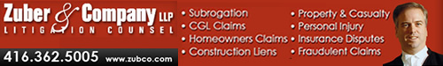 Personal injury, civil, litigation Lawyer Toronto & GTA